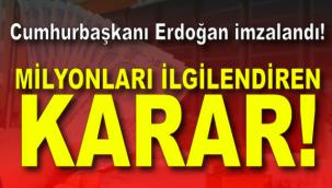 Kısa çalışma ödeneği ve işten çıkarma yasağı 2 ay daha uzatıldı! Erdoğan imzaladı