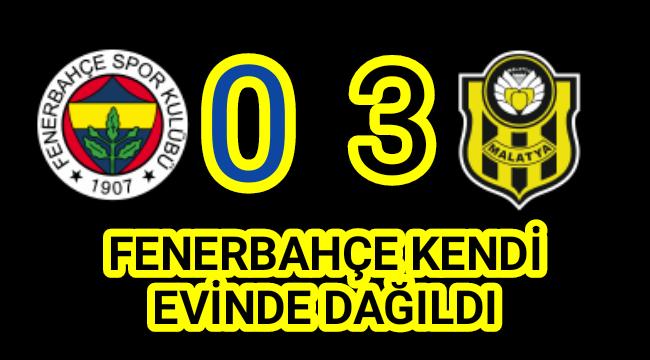 Fenerbahçe Kendi Evinde Yenildi