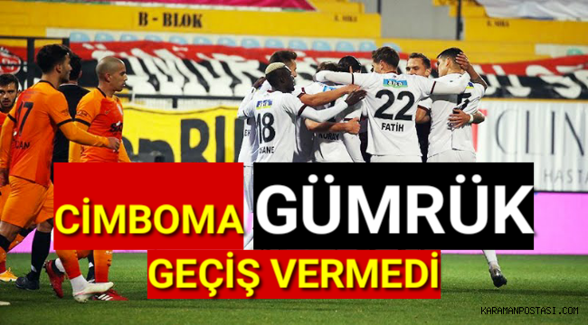 Galatasaraya GÜMRÜK'ten Geçiş Yok !