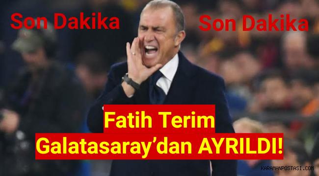 Mustafa Cengiz Fatih Terim'i kovdu! İstifa sinyali veren Fatih Terim Galatasaray'dan ayrıldı!