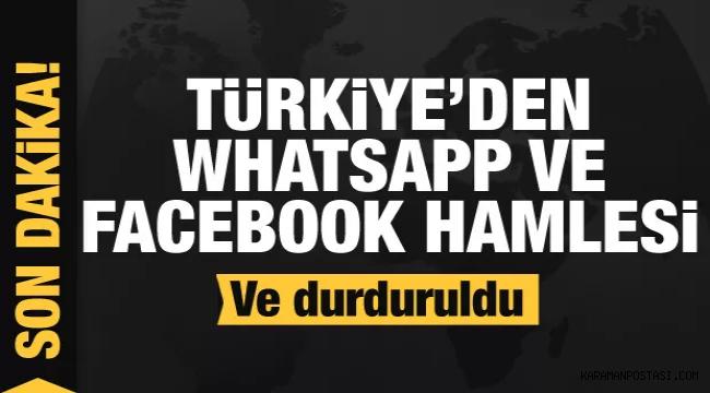 VE SON NOKTA KONULDU...WhatsApp Verilerinin Paylaşılması Zorunluluğunu Durdurdu