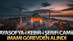 Ayasofya Camii İmamı Mehmet Boynukalın üniversitedeki görevine geri döndü